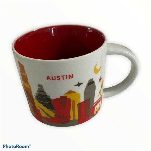 STARBUCKS COFFEE YOU ARE HERE COLLECTION AUSTIN